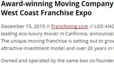 NorthStar Moving Unveils Franchise